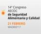 El 14º Congreso AECOC de Seguridad Alimentaria se celebrará el 21 de febrero en Madrid