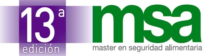 Página de Master en seguridad alimentaria