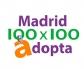 Madrid 100x100 Adopta, para una adopción responsable, con la colaboración de los veterinarios madrileños