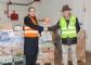 Colvema entrega los más de 5.400 kg de alimentos recogidos en colaboración con el Banco de Alimentos, que agradece la solidaridad de los veterinarios