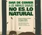 Una campaña del MAPA e Interporc, conciencia de que 'dar de comer a los animales silvestres no es lo natural'