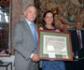 Esperanza Orellana, nombrada Presidenta de Honor de Colvema en el acto de San Francisco, en el que se destacó la labor esencial de los veterinarios para la sociedad