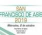 El próximo 2 de octubre tendrá lugar el acto de celebración de la festividad de San Francisco de Asís, en la Real Fábrica de Tapices