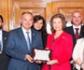 La Reina Sofía recibe a representantes de la facultad de veterinaria de la UCM, con motivo celebración del 225 Aniversario del inicio de los Estudios Superiores de Veterinaria