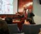 El profesor Ignacio de Gaspar ofreció una interesante y didáctica charla sobre los yacimientos de Atapuerca, en los que forma parte del equipo de investigadores