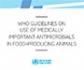 Guía de la OMS sobre la administración de antimicrobianos de uso humano a los animales de producción