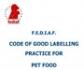 La Unión Europea y los Estados miembros respaldan el Código de Buenas Prácticas en el Etiquetado de Alimentos para Mascotas de FEDIAF