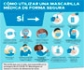 Infografías de la OMS: cuándo y cómo usar los diferentes tipos de mascarillas de forma segura