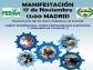 Los veterinarios españoles se unen para poder dar un mejor servicio a la sociedad y se manifestarán en Madrid el próximo domingo 17 de noviembre