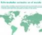 Mapa interactivo de las enfermedades animales en el mundo