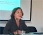 Esperanza Orellana muestra cómo la mejora en los procesos productivos ha reducido el impacto medioambiental de la ganadería