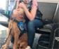 Muestran la reacción de un perro de asistencia ante una crisis de su dueño