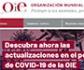 La OIE incorpora nuevas actualizaciones a su portal específico sobre la Covid-19
